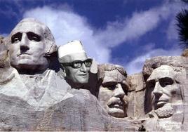 Morarji Desai may get his place on Mount Rushmore