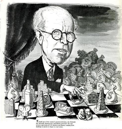 Joe Kennedy Cartoon| LIFE | 25 Jan 1963