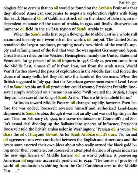 Middle East Politics (from Coming apart, coming together By Edward R. Kantowicz; Page 165; courtesy - books.google.com). Click to go to source.