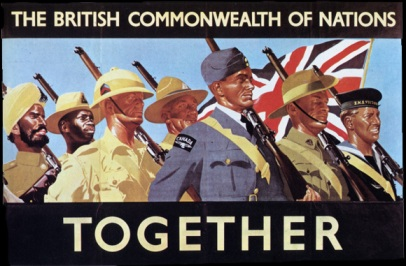 A British War poster of 1939. British war poster of 1939. Just 8 years before independence. British racism and attitude towards 'Brown' Indians was discriminatory. Like this poster displays. Click for larger image.