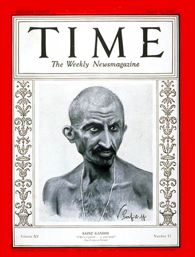 """Saint Gandhi"": Man of the Year  