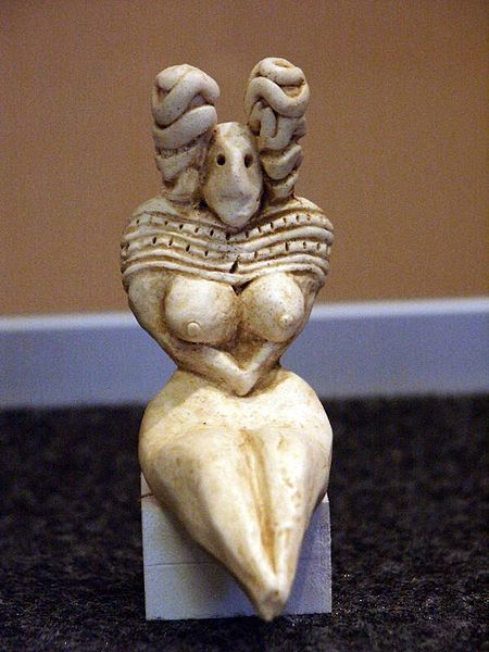 Mehrgarh Statuette; Courtesy - Wikimedia Commons; Source: Denis Biette