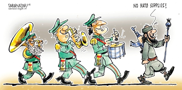Obama needs to show some 'successes' before election day  |  Cartoonist Sabir Nazar; source & courtesy - pakistantoday.com.pk  |  Click for image.