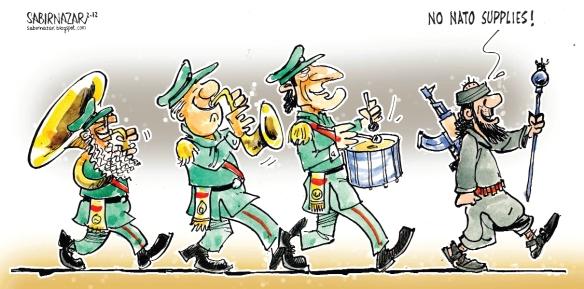 Obama needs to show some 'successes' before election day  |  Cartoonist Sabir Nazar; source & courtesy - pakistantoday.com.pk  |  Click for image.