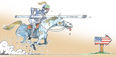 Pakistan is trying out all diplomatic moves while the US is in election mode  |  Cartoonist Sabir Nazar; March 2, 2012; source & courtesy - sabirnazar.blogspot.com  |  Click for larger image.