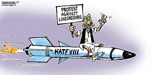 The State of Public Policy  in Pakistan  |  Cartoon by Sabir Nazar; Source & courtesy: Pakistan Today  |  Click for image.