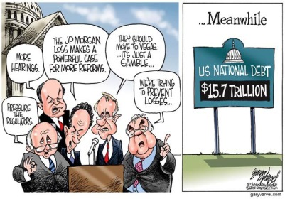 Problems, solutions, systems and procedures of governance have become standardized across the world.     Gary Varvel cartoon of May 18 2012     Click for image.