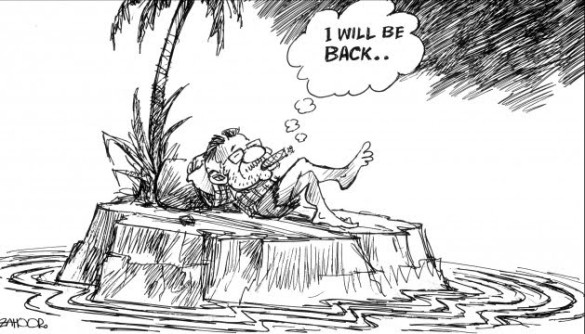 Back to do what, Parvezbhai? Loot again?  |  Zahoor cartoon of May 4, 2010; source & courtesy - paksir.blogspot.in  |  Click for image.
