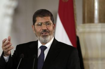 Mohammed Morsy. Photo date: August 21, 2012; courtesy: thehindu.com; source: AP