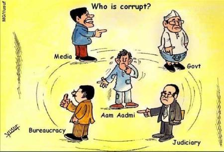 Have the  'corruption-fighters' studied the issue seriously?     Cartoon by Yusuf.