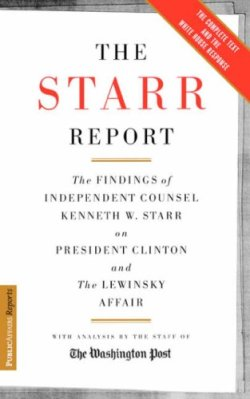 Starr Report - Book Cover