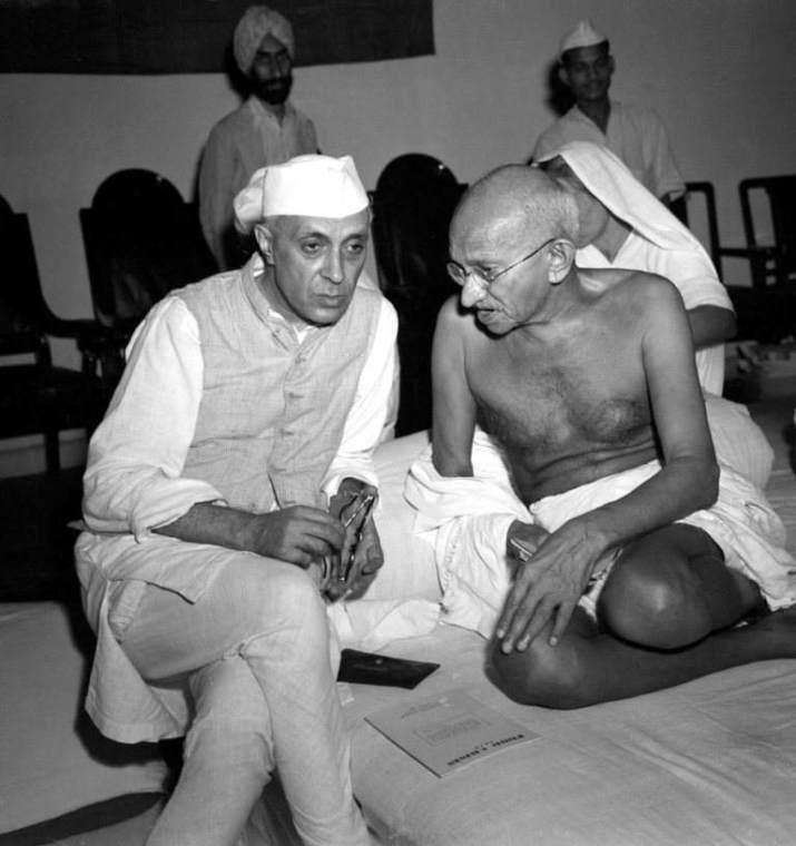 Nehru & Gandhiji