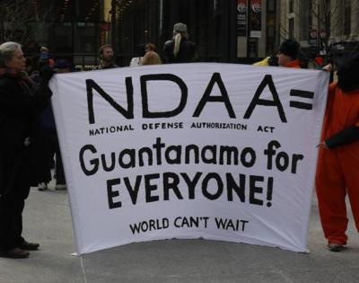 NDAA protest