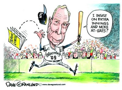 Mayor Bloomberg By Dave Granlund, Politicalcartoons.com - 11/4/2009 12:00:00 AM. Source & courtesy - cagle.com