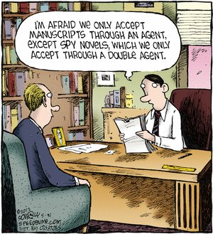 Agents and double agents  |  Cartoon by by Dave Coverly; 31 May, 2012
