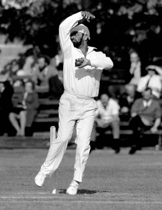 Bishen Singh Bedi - one of the four spinners, a combination never equalled.