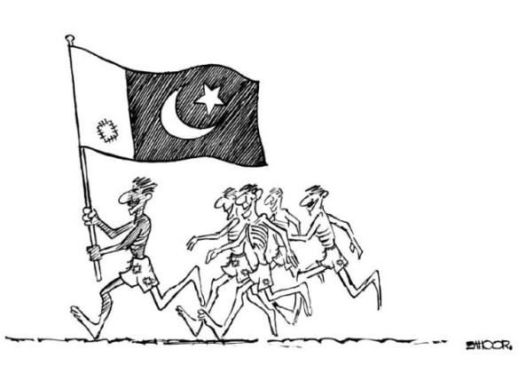The Tragedy In Pakistan  |  by Zahoor (August 2011). – The Express Tribune
