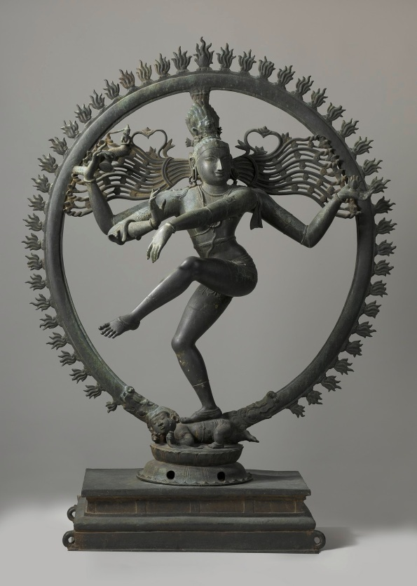 Tandava Nataraja at Rijksmuseum's Asian Art Collection. The Dancing Shiva - Probably a Chola Bronze.  |  Image source and courtesy - rijksmuseum.nl