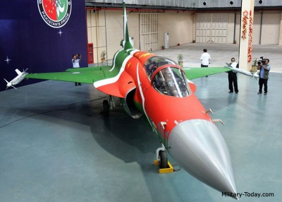 Sino-Pak JF-17 fighter  |  Image source & courtesy - military-today.com