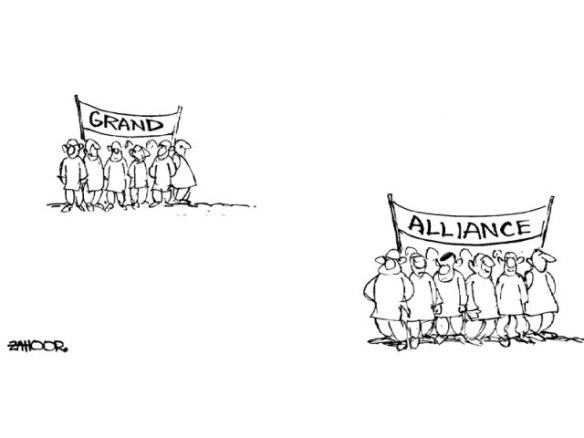 Pakistan Electoral Alliances  |  Comic Wisdom - by Zahoor on December 3rd, 2012 – The Express Tribune