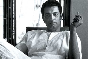 Satyajit Ray  |  Image source & courtesy - indianexpress.com  |  Click for source image.