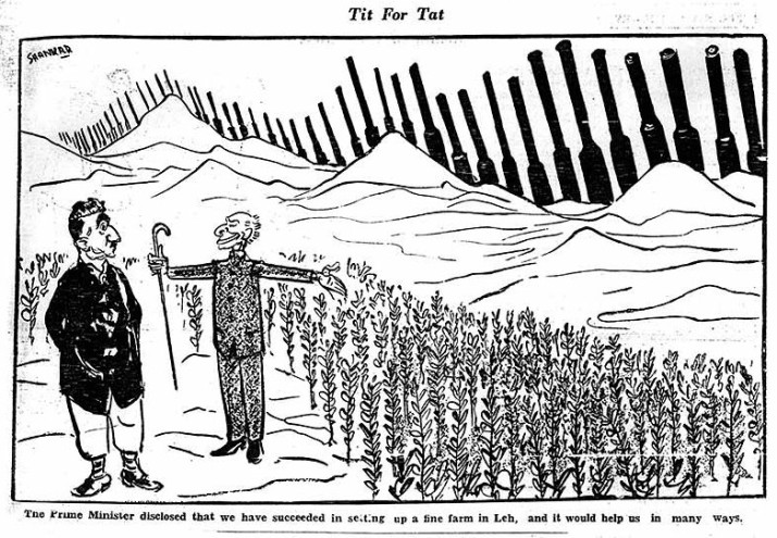 Shankar's cartoon on Decmber 17, 1961 in his own cartoon magazine, Shanker's Weekly, forewarned PM Nehru about the imminent Chinese threat - nearly one year in advance.