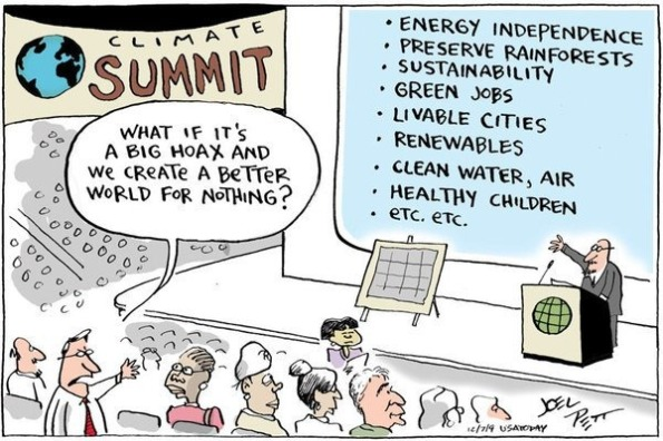 How about doing a few things just coz they are right?  Mebbe not 'necessarily' 'profitable'  |  Joel Pett, Lexington (Ky.) Herald-Leader, Cartoonists and Writers Syndicate, and was published on December 7, 2009 in USA TODAY